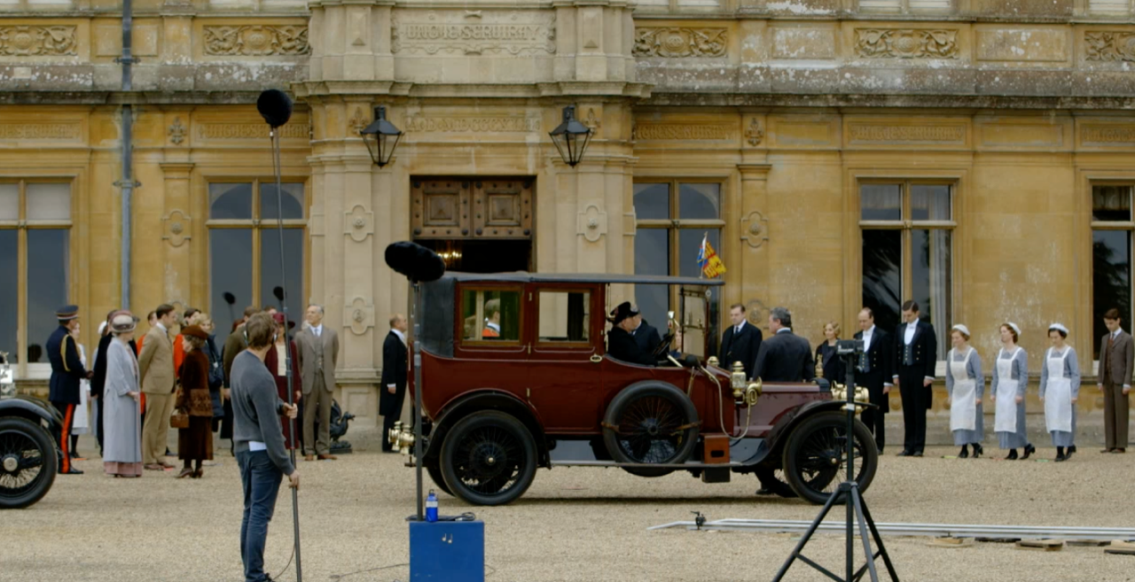 Downton Abbey - King & Queen's Arrival
